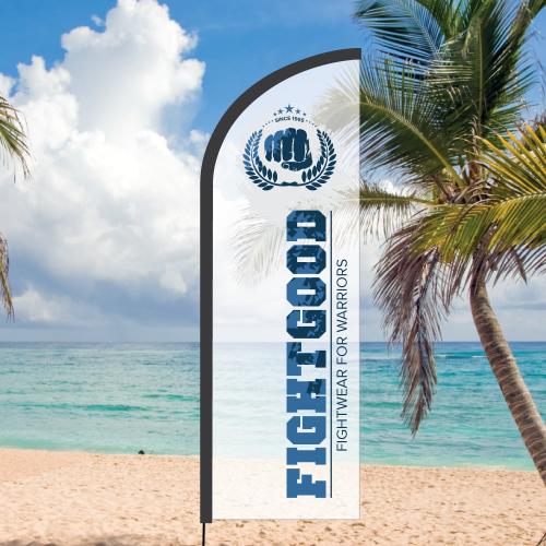 Beachvlag Paradise